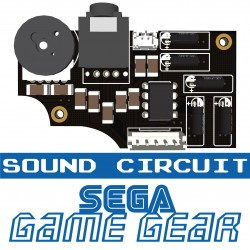 Sound board for Game Gear